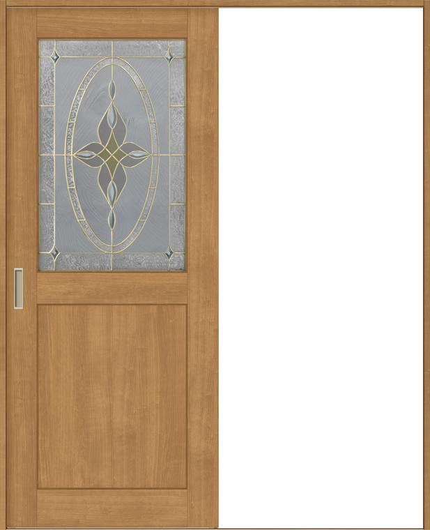 ラシッサS 室内引戸 Vレール方式 片引戸 標準タイプ ASKH-LWB 鍵なし 1620 W:1,644mm × H:2,023mm ノンケーシング / ケーシング LIXIL リクシル TOSTEM