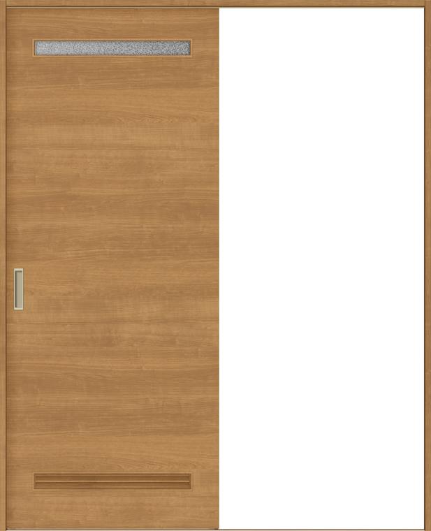特注サイズ ラシッサS 室内引戸 Vレール方式 片引戸 標準タイプ ASKH-LYB 錠付 W:1188-1992mm × H:1728-2425mm ノンケーシング/ケーシング LIXIL TOSTEM DIY リフォーム