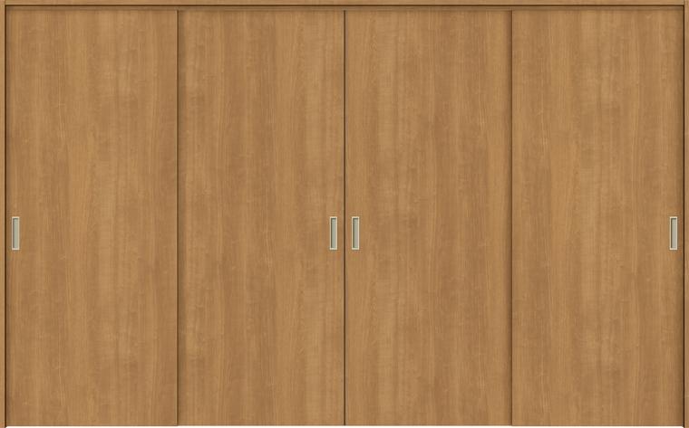 特注サイズ ラシッサS 室内引戸 間仕切り上吊引戸 引違い戸4枚建て ASMHF-LAA 錠無し W:2149-3949mm × H:1750-2425mm ノンケーシング/ケーシング LIXIL
