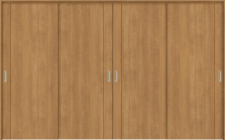 ラシッサS 室内引戸 間仕切り 上吊引戸 引違い戸 4枚建て ASMHF-LAC 錠無し 3220 W:3,253mm × H:2,023mm ノンケーシング / ケーシング LIXIL TOSTEM