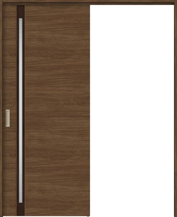 ラシッサS 室内引戸 間仕切り 上吊引戸 片引戸 標準タイプ ASMKH-LGF 錠無し 1620 W:1,644mm × H:2,023mm ノンケーシング / ケーシング LIXIL TOSTEM