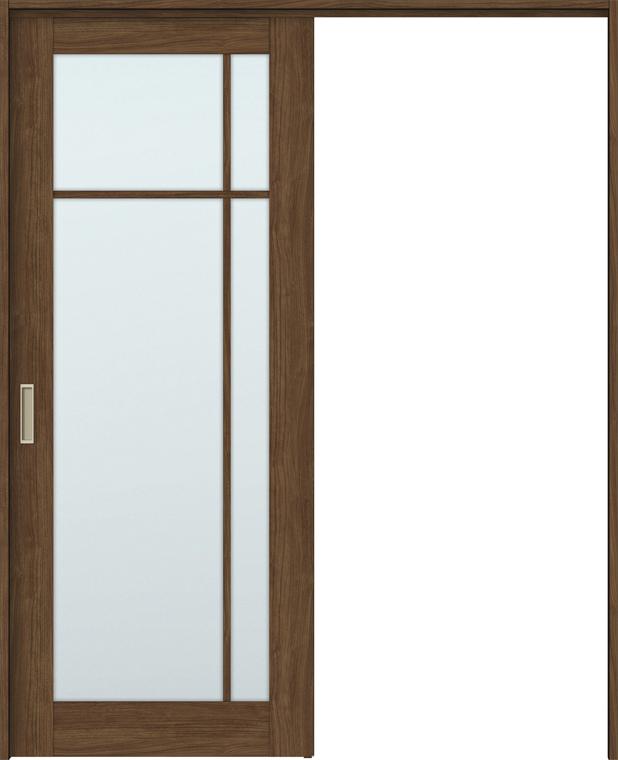 最新のデザイン 間仕切り上吊引戸 LIXIL:Clair(クレール)店 W:1092-1992mm ラシッサS 錠無し 特注サイズ 室内引戸 ノンケーシング/ケーシング 片引戸標準タイプ H:1750-2425mm × ASMKH-LGK-木材・建築資材・設備