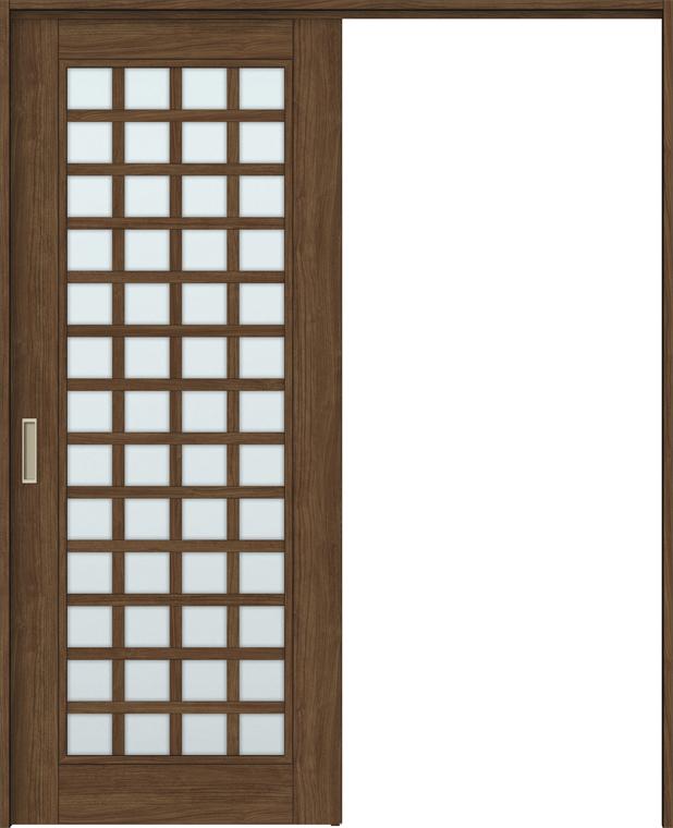 フジオカシ 錠無し 特注サイズ 室内引戸 H:1750-2425mm ラシッサS ノンケーシング/ケーシング LIXIL:Clair(クレール)店 ASMKH-LGS × 間仕切り上吊引戸 W:1092-1992mm 片引戸標準タイプ-木材・建築資材・設備