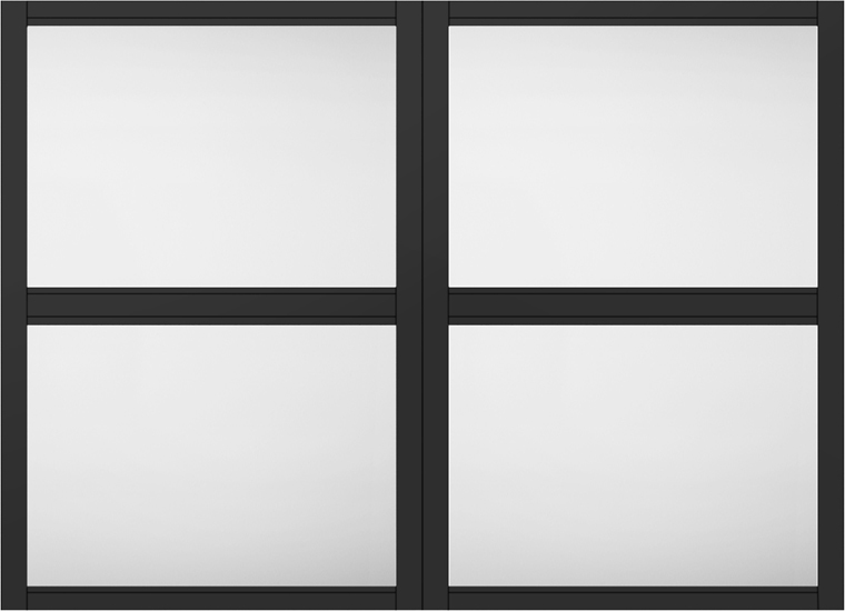 ラシッサS 室内用窓 デコマド 窓台設置 両側壁納まり ASTMDW-BE 2列×2段 W:1,132mm × H:825mm LIXIL リクシル TOSTEM トステム