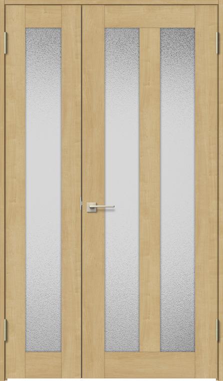 ラシッサS 親子ドア ASTO-LGG 錠付き 1220 W:1,188mm × H:2,023mm ノンケーシング / ケーシング LIXIL リクシル TOSTEM トステム