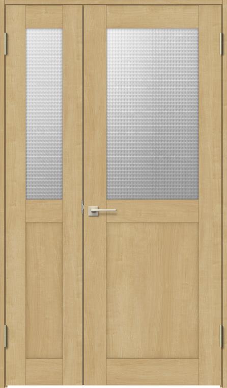 ラシッサS 親子ドア ASTO-LGH 錠付き 1220 W:1,188mm × H:2,023mm ノンケーシング / ケーシング LIXIL リクシル TOSTEM トステム