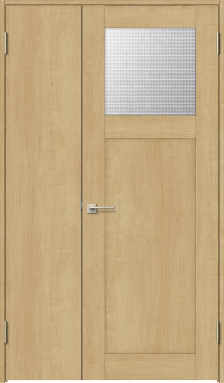 特注サイズ ラシッサS 親子ドア ASTO-LGJ 錠無し W:889-1 408mm × リクシル TOSTEM 425mm LIXIL H:1740-2 ケーシング ノンケーシング 買物 マーケット トステム