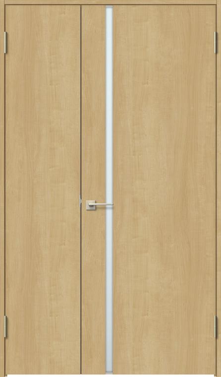 ラシッサS 親子ドア ASTO-LGL 錠付き 1220 W:1,188mm × H:2,023mm ノンケーシング / ケーシング LIXIL リクシル TOSTEM トステム