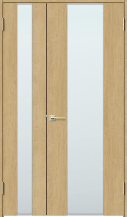 特注サイズ ラシッサS 親子ドア ASTO-LGN 錠無し W:889-1,408mm × H:1740-2,425mm ノンケーシング / ケーシング LIXIL リクシル TOSTEM トステム