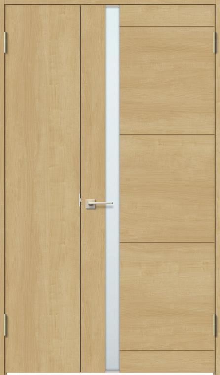 特注サイズ ラシッサS 親子ドア ASTO-LGP 錠無し W:889-1,408mm × H:1740-2,425mm ノンケーシング / ケーシング LIXIL リクシル TOSTEM トステム