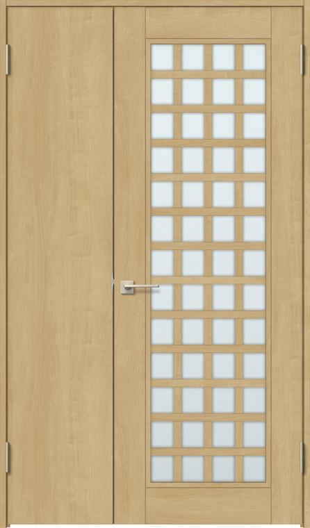 特注サイズ ラシッサS 親子ドア ASTO-LGS 錠無し W:889-1,408mm × H:1740-2,425mm ノンケーシング / ケーシング LIXIL リクシル TOSTEM トステム