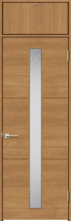 ラシッサS ランマ付きドア ASTRH-LGD 錠付き 0724 W:780mm × H:2,400mm ノンケーシング / ケーシング LIXIL リクシル TOSTEM トステム