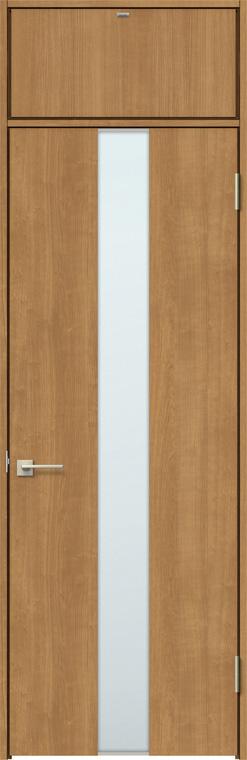 ラシッサS ランマ付きドア ASTRH-LGM 錠付き 0724 W:780mm × H:2,400mm ノンケーシング / ケーシング LIXIL リクシル TOSTEM トステム