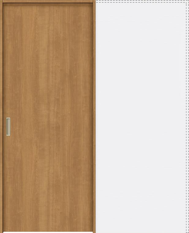 ラシッサS 上吊引戸 引込み戸標準 ASUHK-LAA 1820J 錠付 W:1,824mm × H:2,023mm ノンケーシング / ケーシング LIXIL リクシル TOSTEM トステム