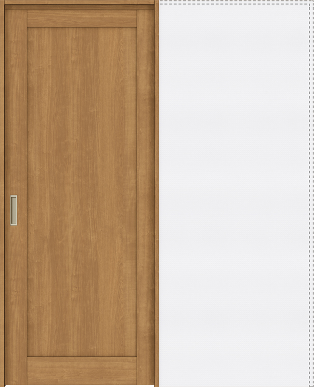 ラシッサS 上吊引戸 引込み戸標準 ASUHK-LAG 1620N 錠なし W:1,644mm × H:2,023mm ノンケーシング / ケーシング LIXIL リクシル TOSTEM トステム