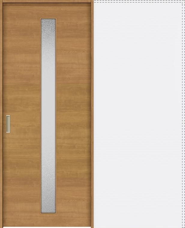 特注サイズ ラシッサS 上吊引戸 引込み戸標準 ASUHK-LGB 錠付 W:1188-1992mm × H:1750-2425mm ノンケーシング / ケーシング LIXIL リクシル TOSTEM トステム