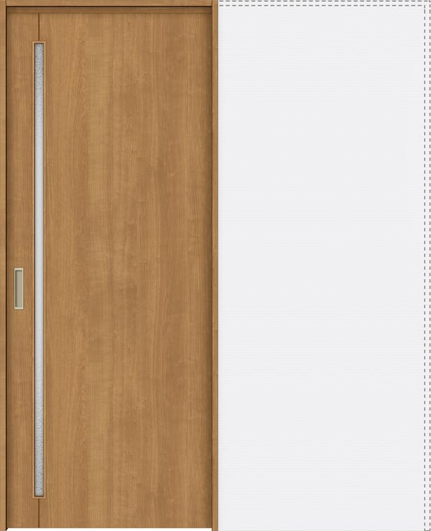 ラシッサS 上吊引戸 引込み戸標準 ASUHK-LGC 1820J 錠付 W:1,824mm × H:2,023mm ノンケーシング / ケーシング LIXIL リクシル TOSTEM トステム