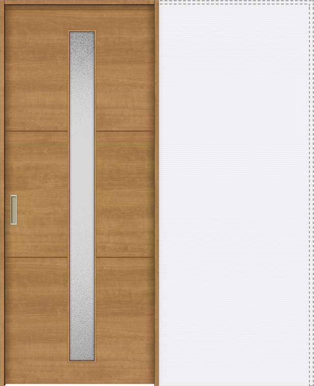 ラシッサS 上吊引戸 引込み戸標準 ASUHK-LGD 1820J 錠付 W:1,824mm × H:2,023mm ノンケーシング / ケーシング LIXIL リクシル TOSTEM トステム