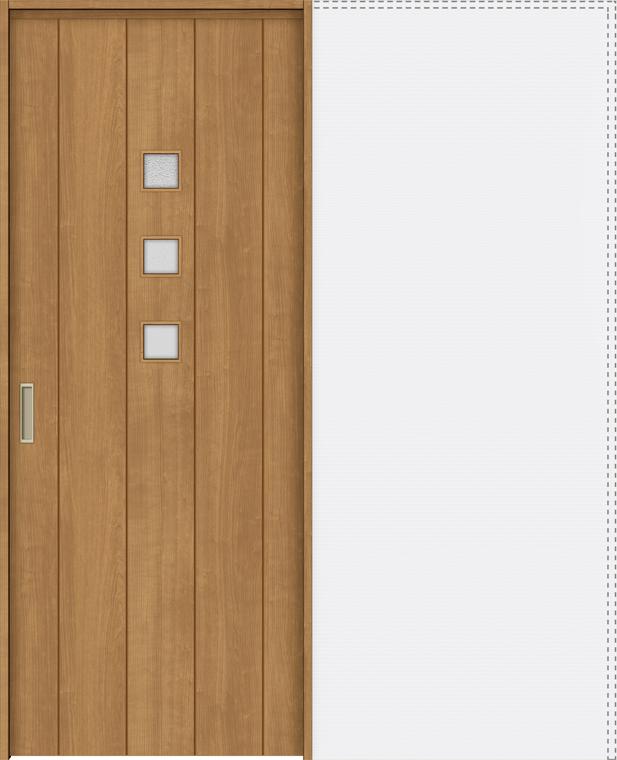 特注サイズ ラシッサS 上吊引戸 引込み戸標準 ASUHK-LGE 錠付 W:1188-1992mm × H:1750-2425mm ノンケーシング / ケーシング LIXIL リクシル TOSTEM トステム