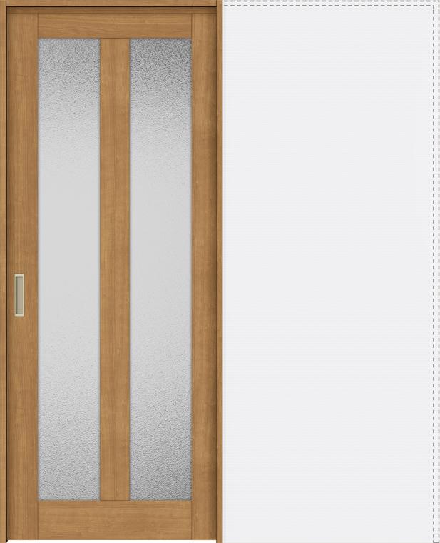 ラシッサS 上吊引戸 引込み戸標準 ASUHK-LGG 1420N 錠なし W:1,454mm × H:2,023mm ノンケーシング / ケーシング LIXIL リクシル TOSTEM トステム