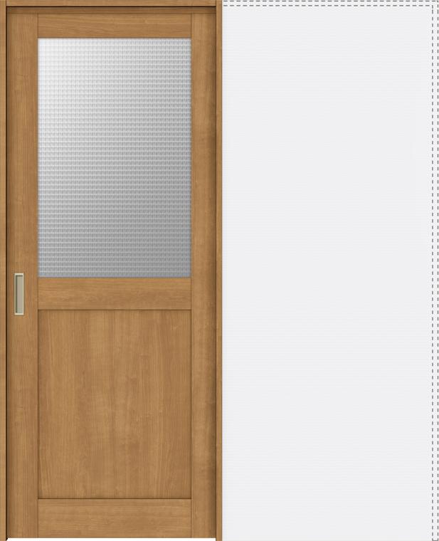 特注サイズ ラシッサS 上吊引戸 引込み戸標準 ASUHK-LGH 錠付 W:1188-1992mm × H:1750-2425mm ノンケーシング / ケーシング LIXIL リクシル TOSTEM トステム