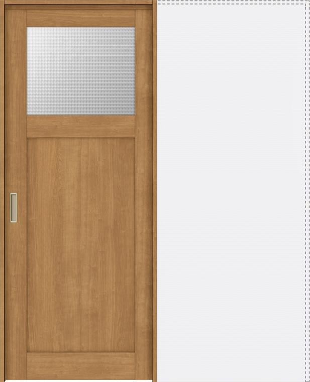 ラシッサS 上吊引戸 引込み戸標準 ASUHK-LGJ 1420J 錠付 W:1,454mm × H:2,023mm ノンケーシング / ケーシング LIXIL リクシル TOSTEM トステム