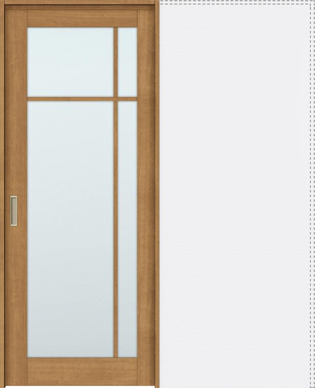 特注サイズ ラシッサS 上吊引戸 引込み戸標準 ASUHK-LGK 錠付 W:1188-1992mm × H:1750-2425mm ノンケーシング / ケーシング LIXIL リクシル TOSTEM トステム