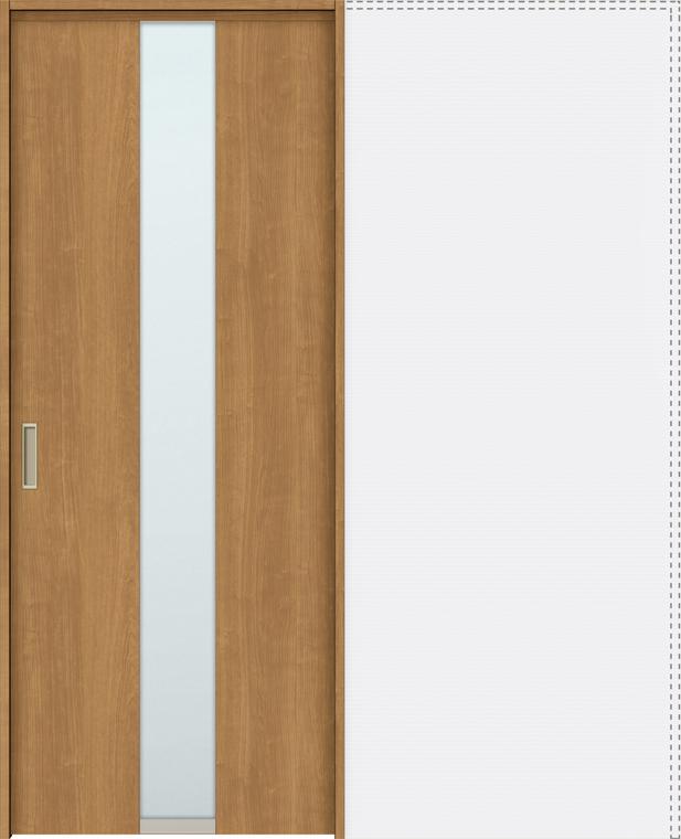 特注サイズ ラシッサS 上吊引戸 引込み戸標準 ASUHK-LGM 錠付 W:1188-1992mm × H:1750-2425mm ノンケーシング / ケーシング LIXIL リクシル TOSTEM トステム