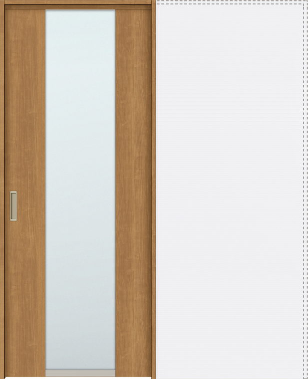 ラシッサS 上吊引戸 引込み戸標準 ASUHK-LGN 1820J 錠付 W:1,824mm × H:2,023mm ノンケーシング / ケーシング LIXIL リクシル TOSTEM トステム