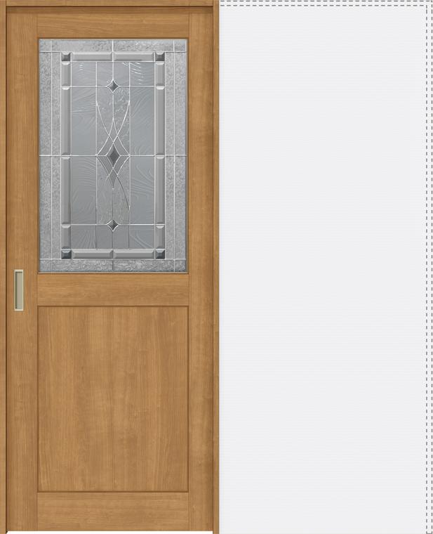 特注サイズ ラシッサS 上吊引戸 引込み戸標準 ASUHK-LWB 錠付 W:1188-1992mm × H:2003-2163mm ノンケーシング / ケーシング LIXIL リクシル TOSTEM トステム