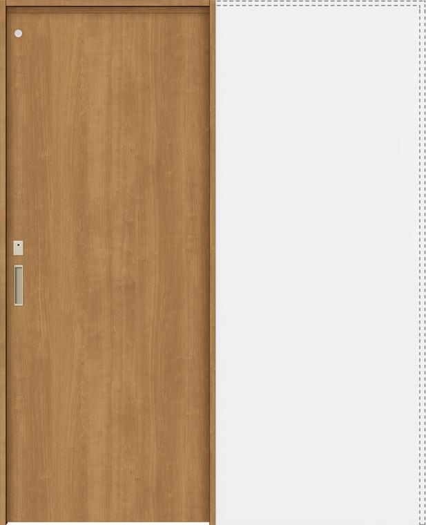 ラシッサS 上吊引戸 引込み戸トイレ(明り採り/採光窓付) ASUHL-LAA 1820J 錠付 W:1,824mm × H:2,023mm ノンケーシング / ケーシング LIXIL リクシル TOSTEM
