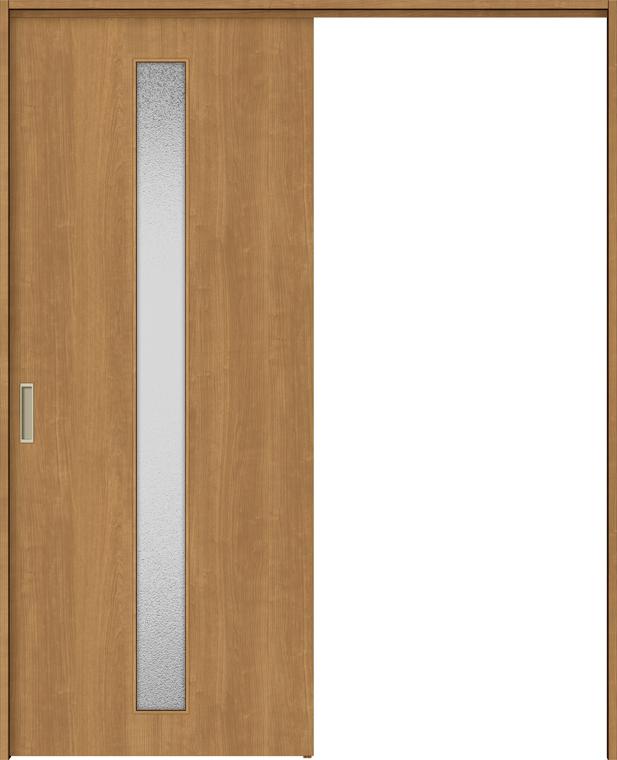 ラシッサS 上吊引戸 片引戸標準 ASUK-LGA 1320J 錠付 W:1,324mm × H:2,023mm ノンケーシング / ケーシング LIXIL リクシル TOSTEM トステム