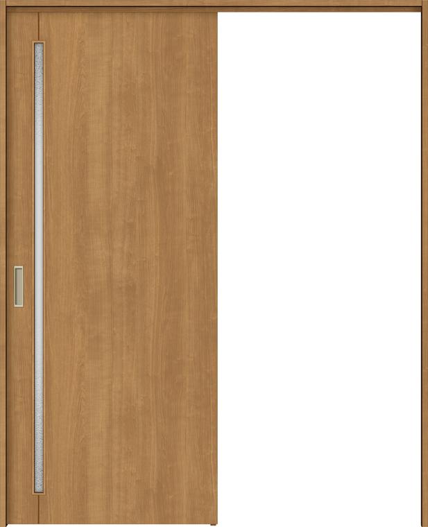 ラシッサS 上吊引戸 片引戸標準 ASUK-LGC 1420N 錠なし W:1,454mm × H:2,023mm ノンケーシング / ケーシング LIXIL リクシル TOSTEM トステム