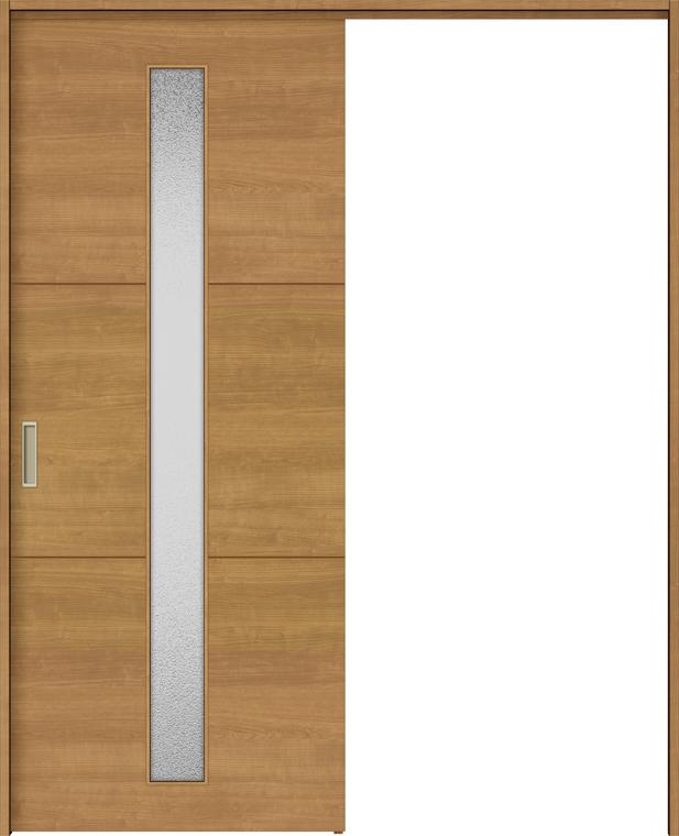 ラシッサS 上吊引戸 片引戸標準 ASUK-LGD 1320J 錠付 W:1,324mm × H:2,023mm ノンケーシング / ケーシング LIXIL リクシル TOSTEM トステム