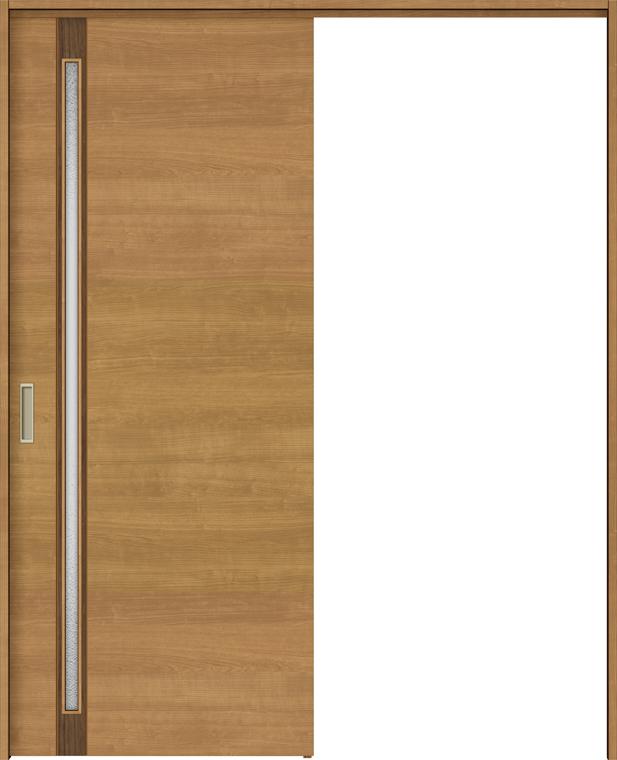 ラシッサS 上吊引戸 片引戸標準 ASUK-LGF 1320J 錠付 W:1,324mm × H:2,023mm ノンケーシング / ケーシング LIXIL リクシル TOSTEM トステム