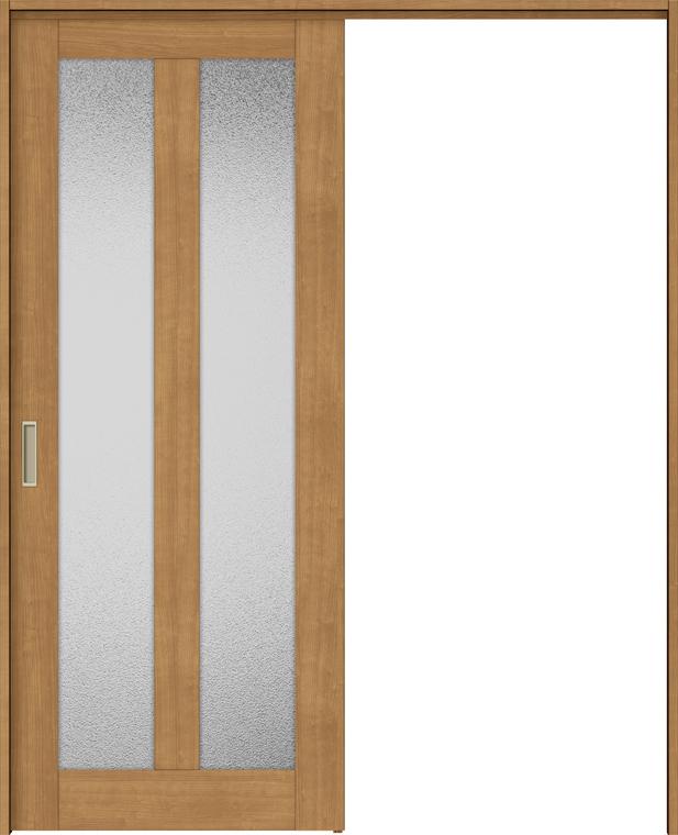 ラシッサS 上吊引戸 片引戸標準 ASUK-LGG 1220J 錠付 W:1,188mm × H:2,023mm ノンケーシング / ケーシング LIXIL リクシル TOSTEM トステム