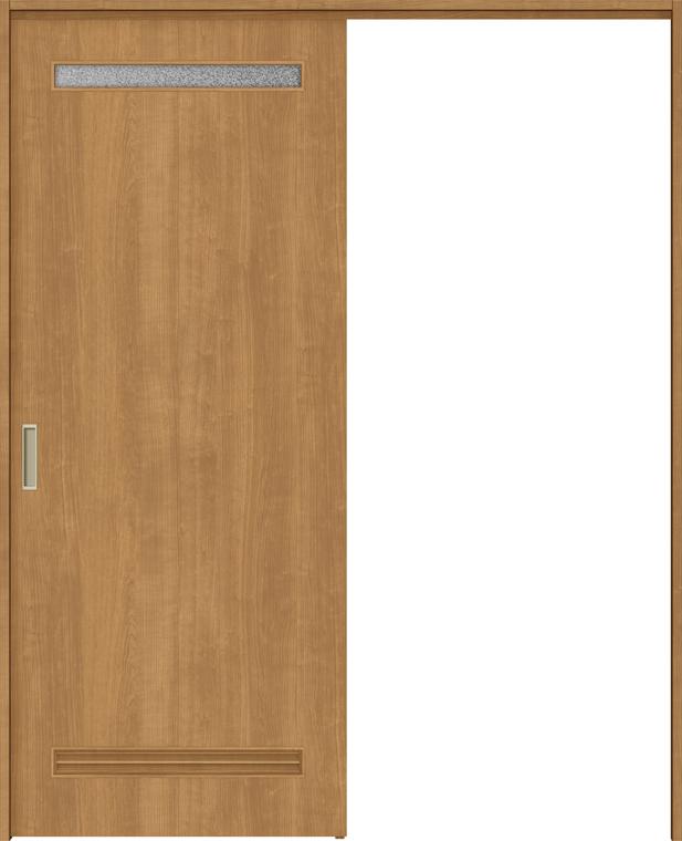 ラシッサS 上吊引戸 片引戸標準 ASUK-LYA 1320J 錠付 W:1,324mm × H:2,023mm ノンケーシング / ケーシング LIXIL リクシル TOSTEM トステム