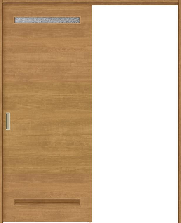 ラシッサS 上吊引戸 片引戸標準 ASUK-LYB 1320J 錠付 W:1,324mm × H:2,023mm ノンケーシング / ケーシング LIXIL リクシル TOSTEM トステム