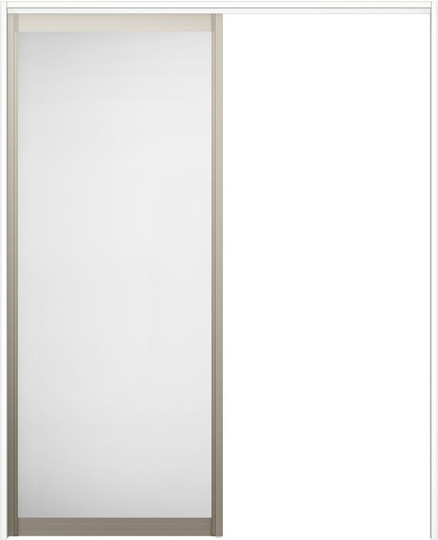 ラシッサS 上吊引戸 片引戸標準 ASUK-LZA 1620N 錠なし W:1,644mm × H:2,023mm ノンケーシング / ケーシング LIXIL リクシル TOSTEM トステム