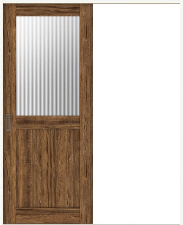 ラシッサD ヴィンティア 室内引戸 Vレール方式 片引戸 標準タイプ AVKH-LGH 錠付 1220 W:1,188mm × H:2,023mm ノンケーシング / ケーシング LIXIL TOSTEM