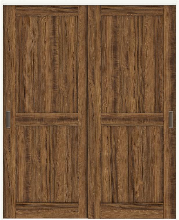 特注サイズ ラシッサDヴィンティア 室内引戸 間仕切り上吊引戸 引違い戸2枚建て AVMHH-LAH 錠なし W:1092-1992mm × H:1750-2425mm