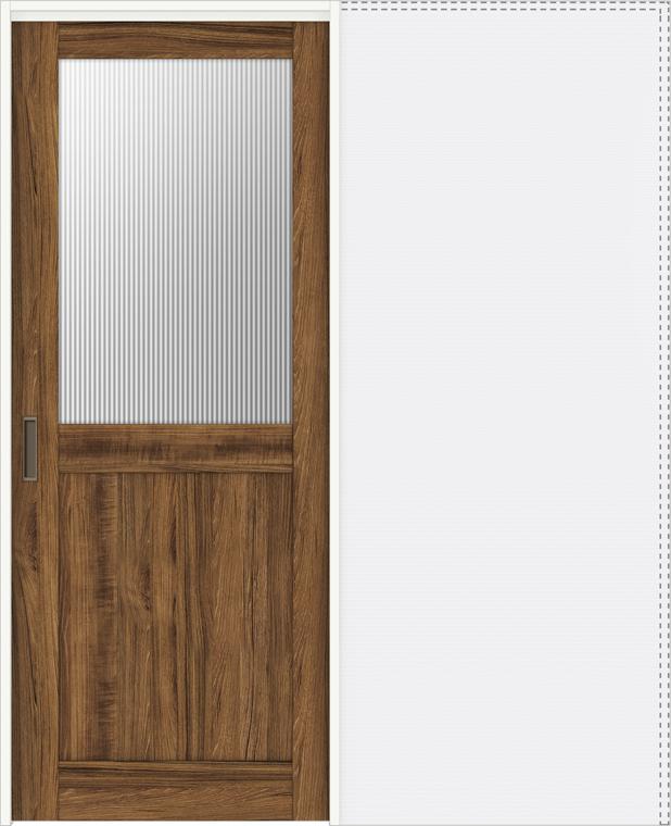 ラシッサD ヴィンティア 上吊引戸 引込み戸標準 AVUHK-LGH 1420N 錠無し W:1,454mm × H:2,023mm ノンケーシング / ケーシング LIXIL リクシル TOSTEM
