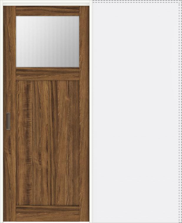特注サイズ ラシッサD ヴィンティア 上吊引戸 引込み戸標準 AVUHK-LGJ 錠なし W:1188-1992mm × H:1750-2425mm ノンケーシング / ケーシング