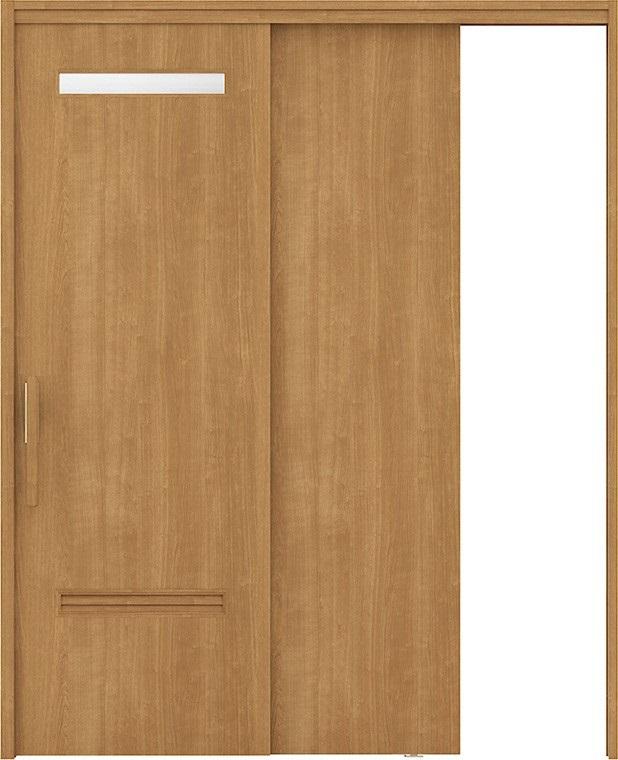 新作モデル ラシッサUD 上吊連動引戸 × 片引戸2枚建て 木質面材/ Wソフトモーション仕様 トステム 鍵なし ERKDWM-HYE 1620 鍵なし W:1,644mm × H:2,023mm LIXIL リクシル TOSTEM トステム, セレクトショップルチア:04c73d00 --- eraamaderngo.in