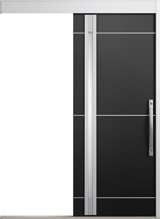 エルムーブ2 防火戸 一本引き L18型 アルミ色 カザスプラス仕様 呼称:183 W:1,838mm × H:2,150mm スライディングドア LIXIL リクシル TOSTEM トステム