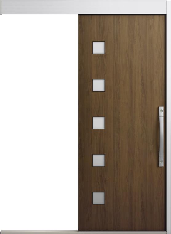 専門店では エルムーブ2 一本引き L21型 木目調 タッチキー仕様 呼称:183 W:1,838mm × H:2,150mm スライディングドア LIXIL リクシル TOSTEM トステム, tari'sグリーン 6997ac29