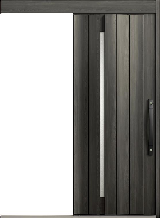 エルムーブ2 一本引き L11型 セレクトカラー タッチキー仕様 呼称:166 W:1,660mm × H:2,150mm スライディングドア LIXIL リクシル TOSTEM トステム