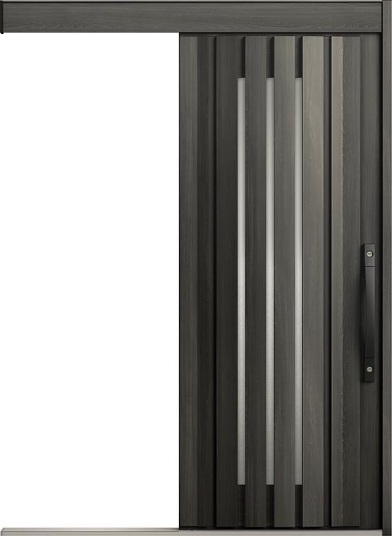 エルムーブ2 防火戸 一本引き L12型 セレクトカラー 手動タイプ 呼称:166 W:1,660mm × H:2,150mm スライディングドア LIXIL リクシル TOSTEM トステム