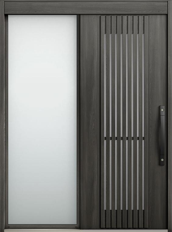 エルムーブ2 片袖 L28型 セレクトカラー システムキー / リニアスライド仕様 呼称:187 W:1,870mm × H:2,288mm スライディングドア LIXIL TOSTEM
