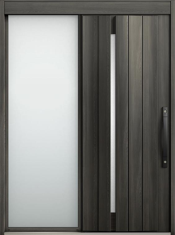 エルムーブ2 片袖 L11型 セレクトカラー システムキー / リニアスライド仕様 呼称:187 W:1,870mm × H:2,288mm スライディングドア LIXIL TOSTEM
